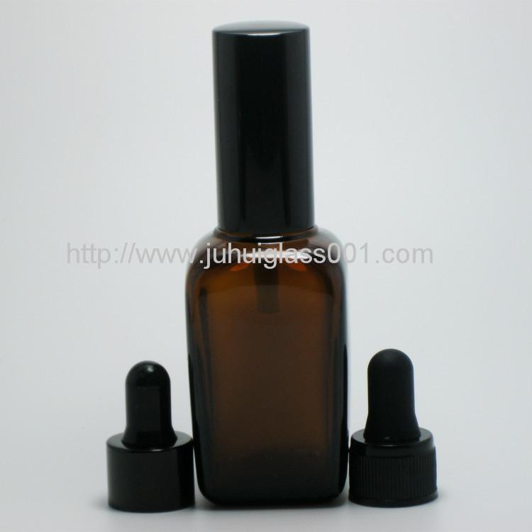 50ml 方形玻璃樽玻璃精油瓶喷雾瓶 2