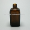 50ML Square Essential Oil Glass Bottle with Sprayer 5