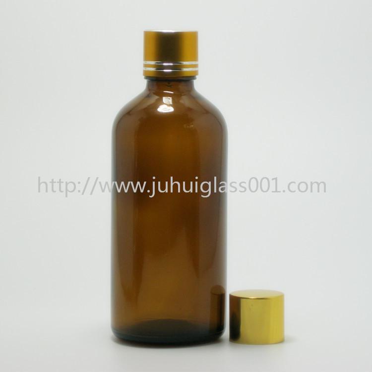 100ml棕色玻璃樽精油瓶 1
