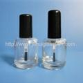 15ml透明茶色玻璃指甲油瓶 2
