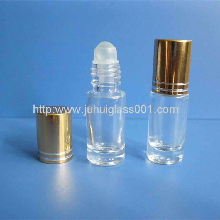 3ML Roll-on Glass Bottle with Ball&Cap 1