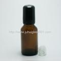 茶色5ml 10ml 15ml 20ml玻璃滚珠瓶走珠瓶 3