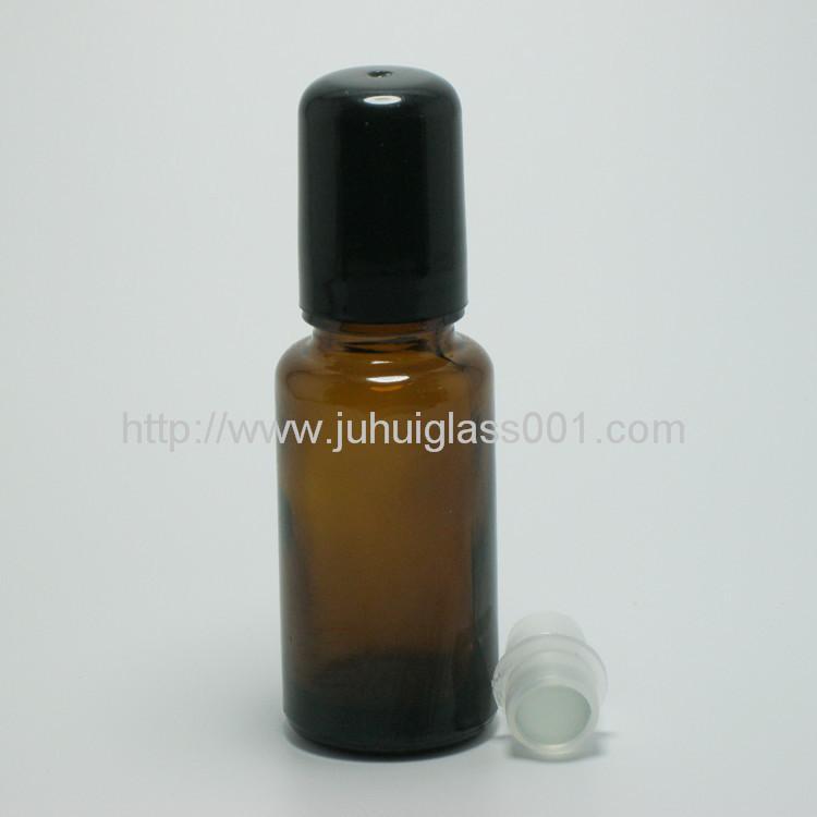 茶色5ml 10ml 15ml 20ml玻璃滚珠瓶走珠瓶 4
