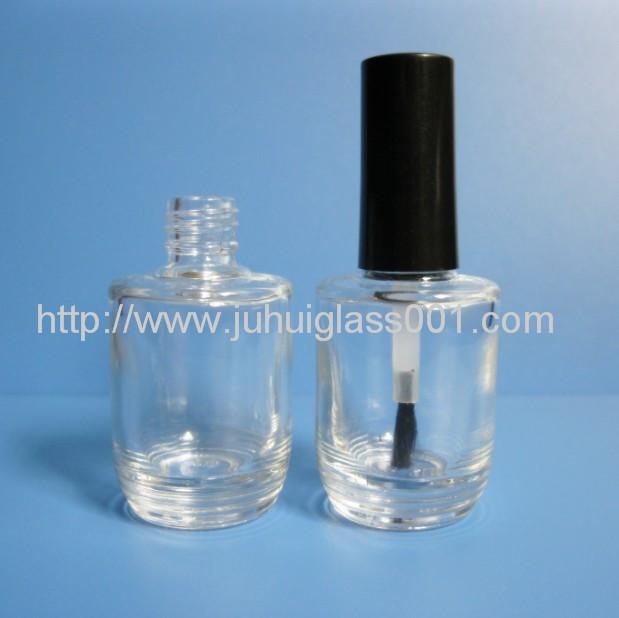 New Design 15ML Round Glass Nail Polish Bottle 3