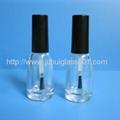 10ml 錐形玻璃指甲油瓶油漆