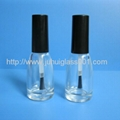 10ml 锥形玻璃指甲油瓶油漆瓶香水瓶