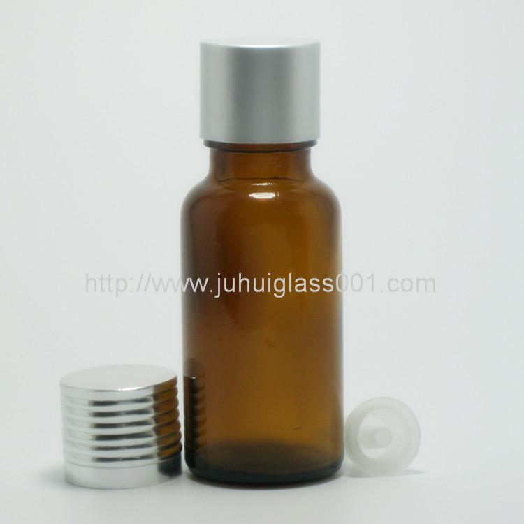 20ml茶色玻璃精油瓶配套花篮盖滴管 2