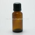 20ml茶色玻璃精油瓶配套花篮盖滴管 4