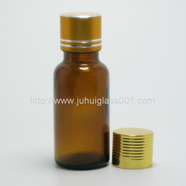 20ml茶色玻璃精油瓶配套花篮盖滴管 7