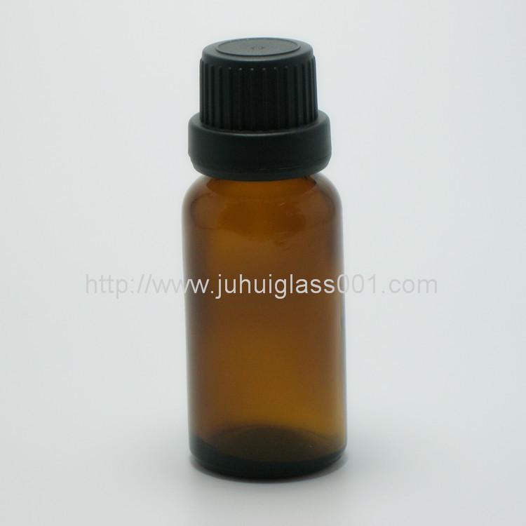 20ml茶色玻璃精油瓶配套花篮盖滴管 8