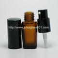 10ml茶色方形玻璃精油瓶香精瓶 3