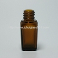 10ml茶色方形玻璃精油瓶香精瓶 2