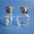 新款10ml玻璃香水瓶配套金色