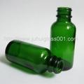 30ML Green Round Boston Dropper Bottle