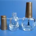 高档6ml圆方形指甲油瓶甲油胶