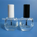 New Beauty 6ML Square Cosmetic Bottle For Nail Polish Storage 4