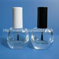 高档6ml圆方形指甲油瓶甲油胶瓶