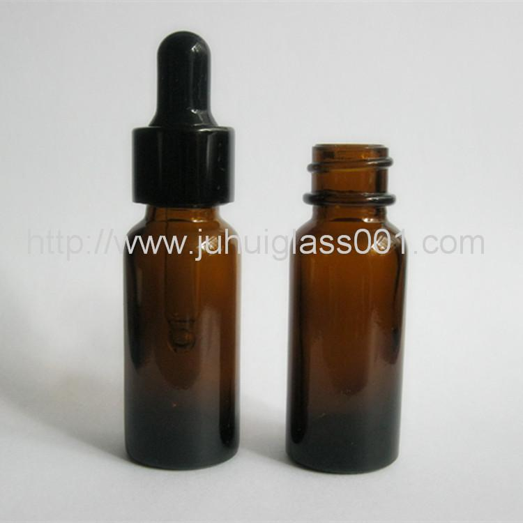 15ml棕色波士顿精油瓶细长型玻璃精油瓶 1