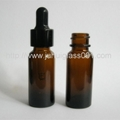 15ML Brown Boston Bottle With Dropper