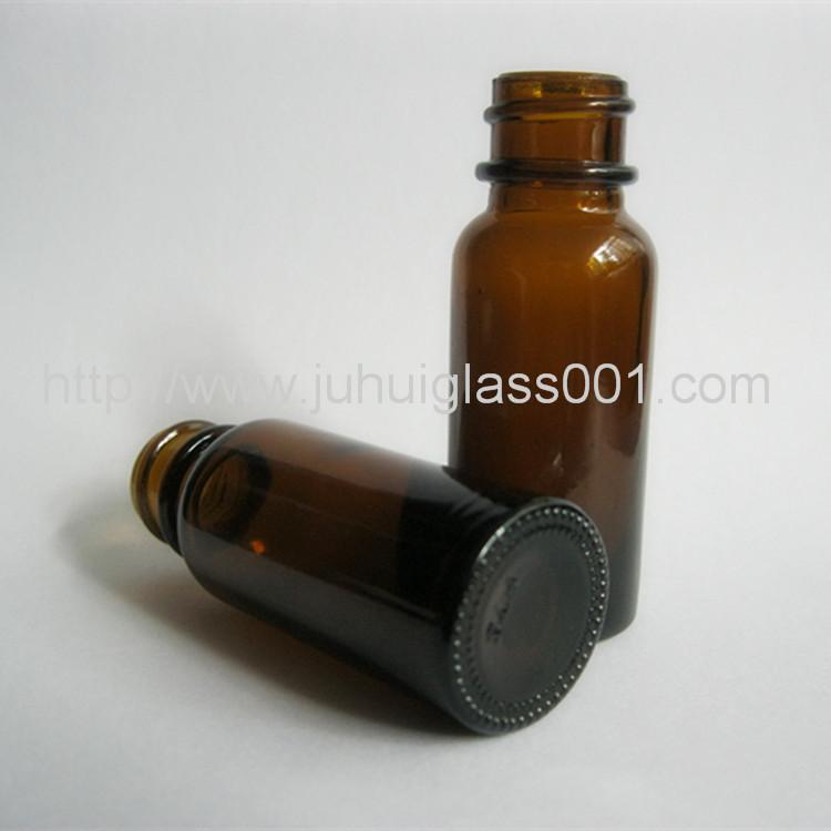 15ml棕色波士顿精油瓶细长型玻璃精油瓶 3