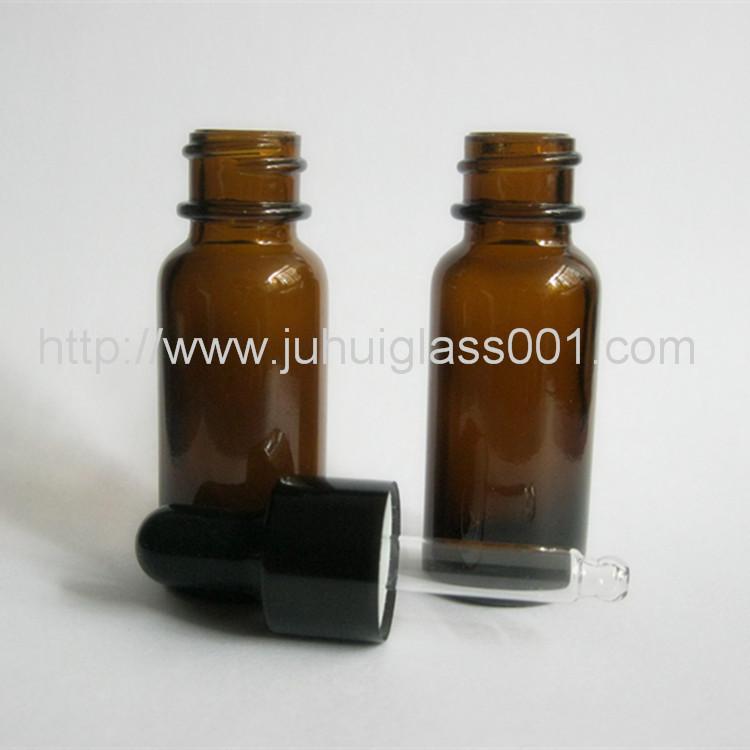15ml棕色波士顿精油瓶细长型玻璃精油瓶 4