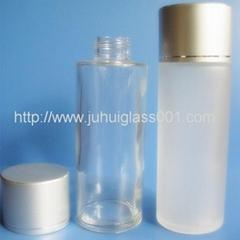 100ml透明蒙砂乳液瓶爽肤水化妆瓶