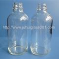 120ml透明波士顿精油瓶玻璃