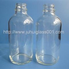 120ml透明波士顿精油瓶玻璃瓶