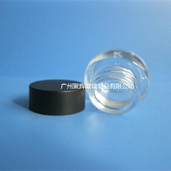 3G Glass Eye Cream Bottle With Plastic Cover