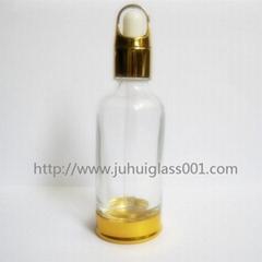 50ml套底玻璃精油瓶精华液瓶