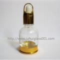 20ml帶金色底座玻璃精油瓶精