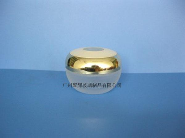 Round Shaped 30G Glass Cream Jar Cosmetic Bottle 1