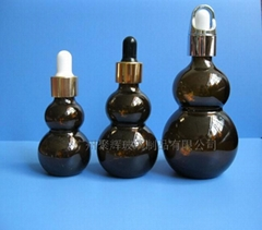 10ml 20ml 30ml 50ml 100ml茶色双葫芦精油瓶滴管瓶