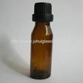 20ml欧版斜肩玻璃精油瓶棕色