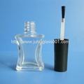10ml收腰型玻璃指甲油瓶可配