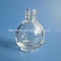 8ML Round Empty Glass Nail Polish Bottle
