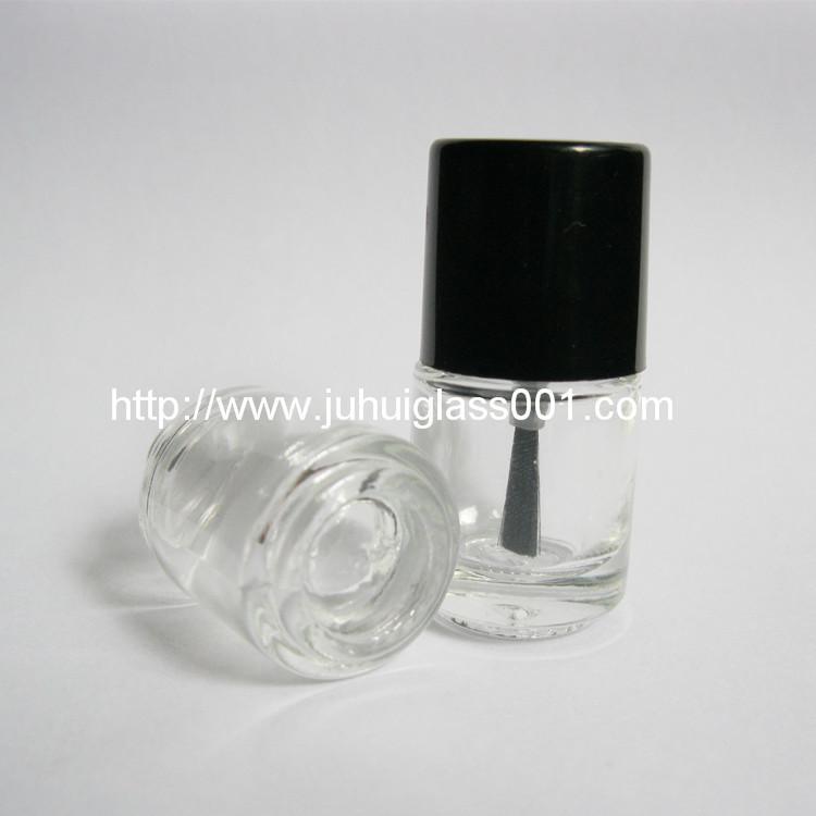 现货供应5ml圆柱形玻璃指甲油瓶小油漆瓶 2