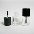 现货供应5ml圆柱形玻璃指甲油瓶小油漆瓶 3
