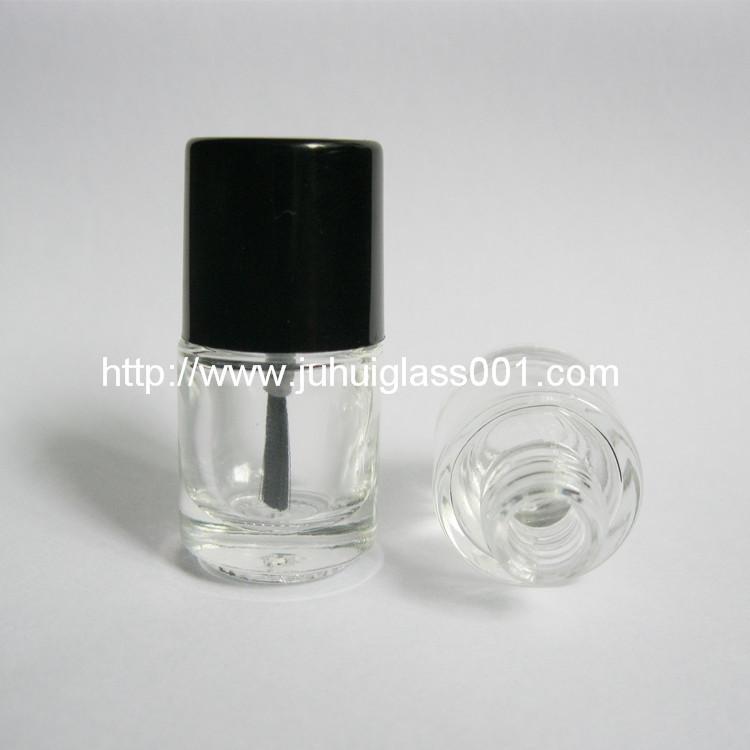 现货供应5ml圆柱形玻璃指甲油瓶小油漆瓶 1