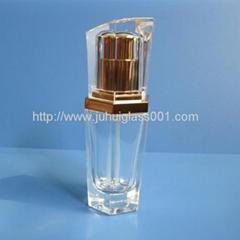 20ml多邊形玻璃精華液瓶