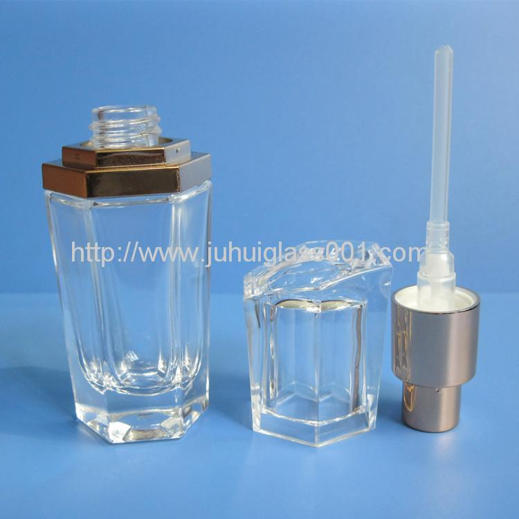 20ml Glass Lotion Bottle Cosmetic Package  2