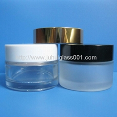 5G-100G Glass Cream Jar with Cover for Cosmetic packaging