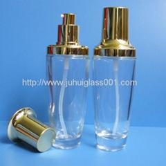 热卖爆款100ml玻璃精华液瓶乳液瓶