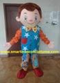 Mr tumble mascot costume