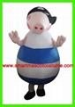pirate george mascot costume
