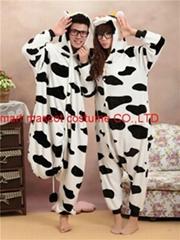 milk cow animal onesie pajamas (Hot Product - 1*)