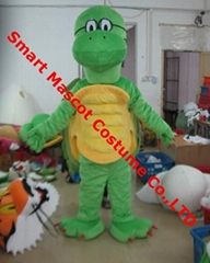 green sea turtle mascot costume