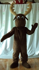adult moose mascot costume