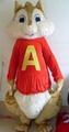 chipmunks mascot costumes