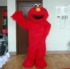 sesame street elmo mascot costume
